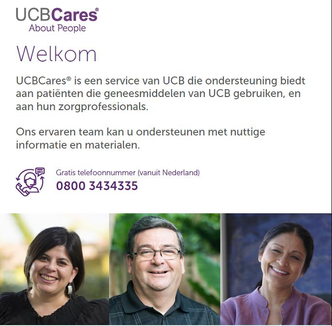 Informatiebrochure van UCBCares