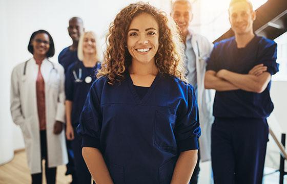 UCBCares voor beroepsbeoefenaren in de gezondheidszorg.